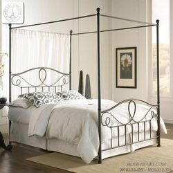 GS013 - Giường canopy cao cấp